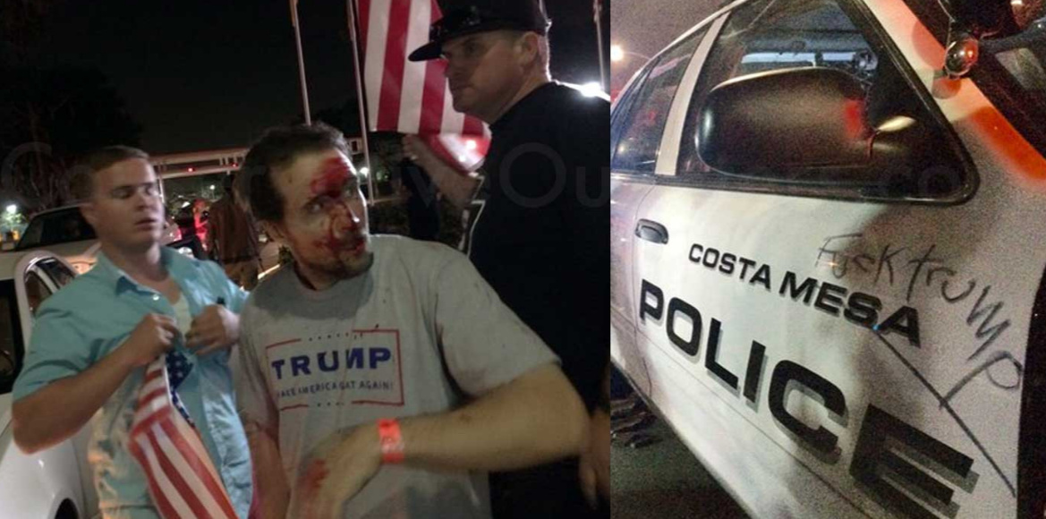 Anti-Trump Violence Sweeping The Nation