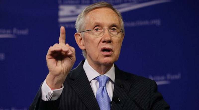 "FLASHBACK: Harry Reid Says ""No One Can Question Comey"" Over Hillary's Emails"