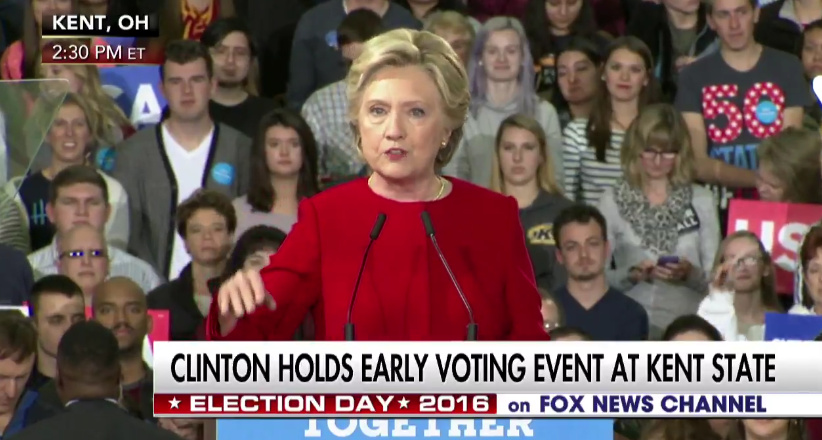 Hillary Demotes Huma Abedin To 'One Of My Staffers' During Speech