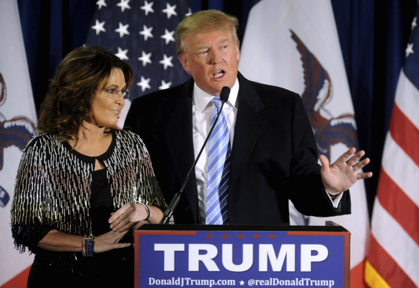 "Obama Sees ""Straight Line"" From Palin To Rise Of Trump"