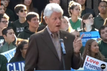 Bill Throws Bernie Under The Bus