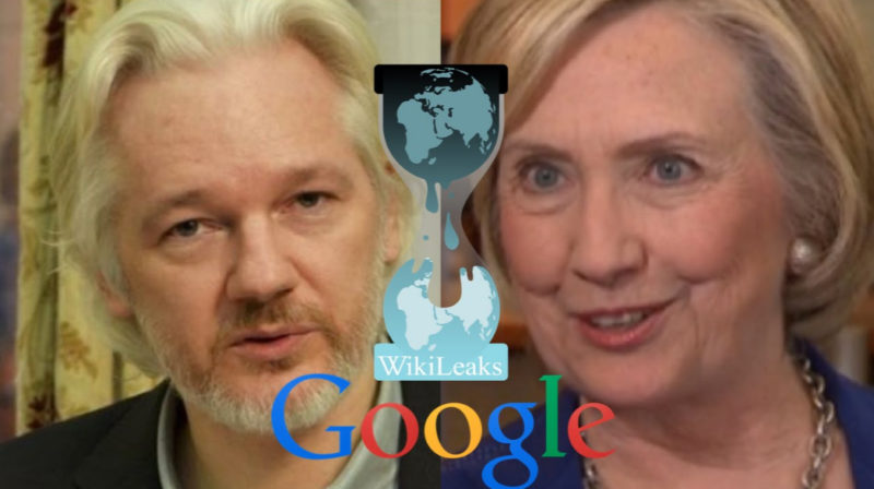 Julian Assange Wants To Take Down Google