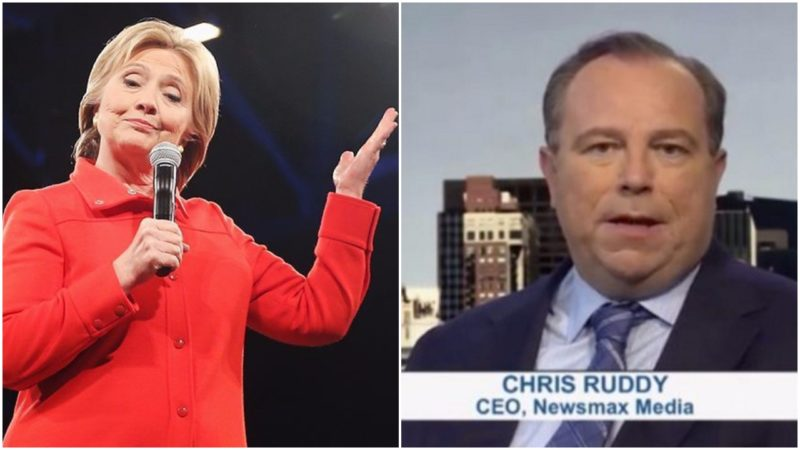 """CEO Of """"Conservative"""" NEWSMAX Working With Hillary's Campaign"""