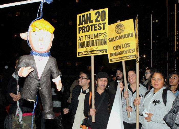 Anti-Trump Protests Funded By Left-Wing Charity