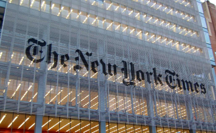 Hilarious: NYT Publisher Vows To 'Rededicate' Paper To Reporting Honestly