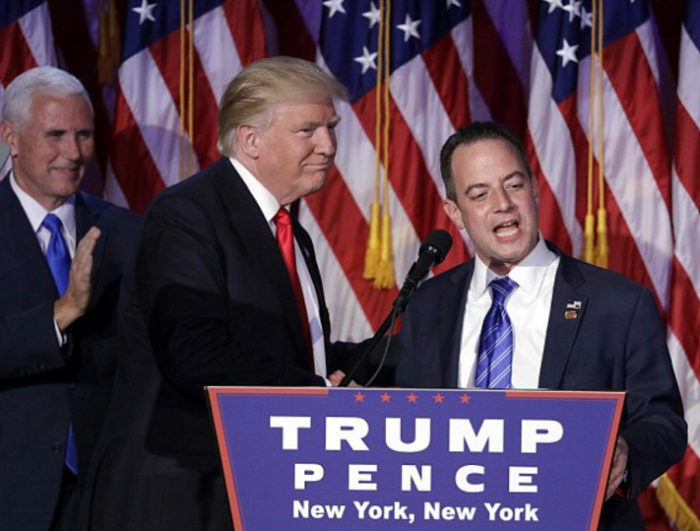 BREAKING: Reince Priebus Named Trump's New Chief Of Staff