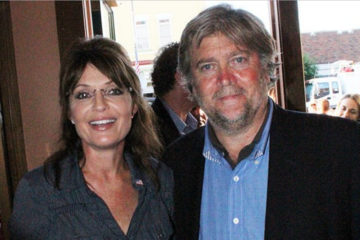 Sarah Palin Blasts Lamestream Media: 'The Steve Bannon Is A Passionate Defender of Freedom'