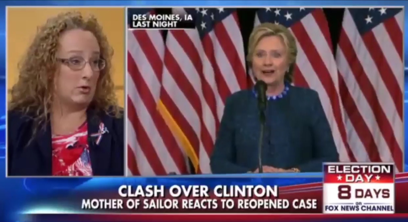 Mother Of Navy Sailor: Why Is My Son In Prison, When Hillary Isn't?