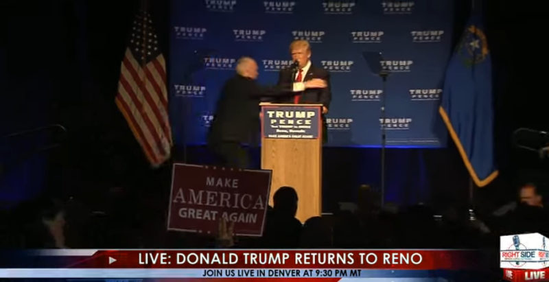 BREAKING: Secret Service Rush Trump Off Stage At Rally