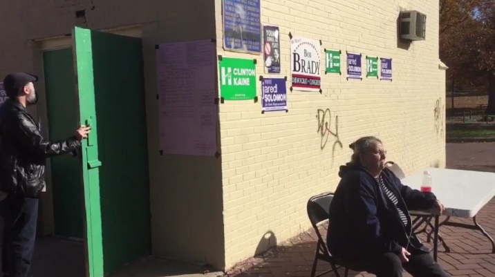 This Appears To Be Illegal Electioneering With A Side Of Intimidation In Philadelphia (Video)