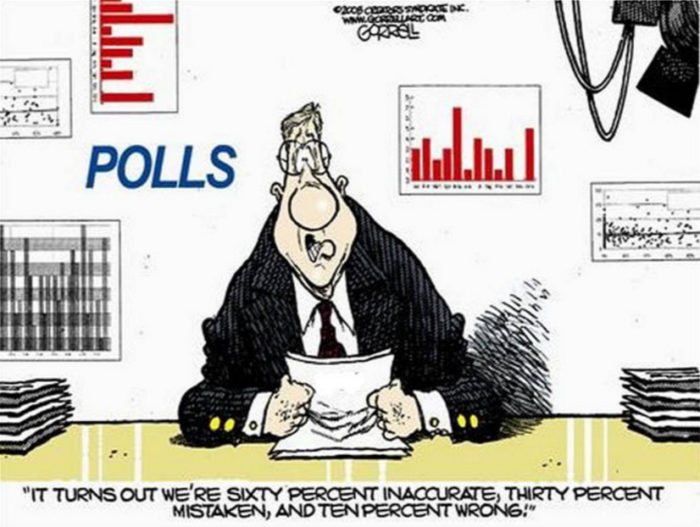 Pollsters Suffer YUGE Embarrassment