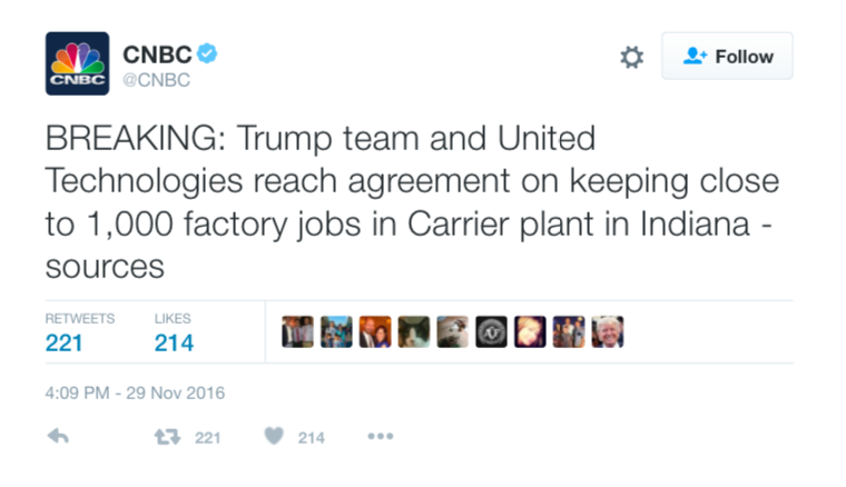 trump team keeping jobs