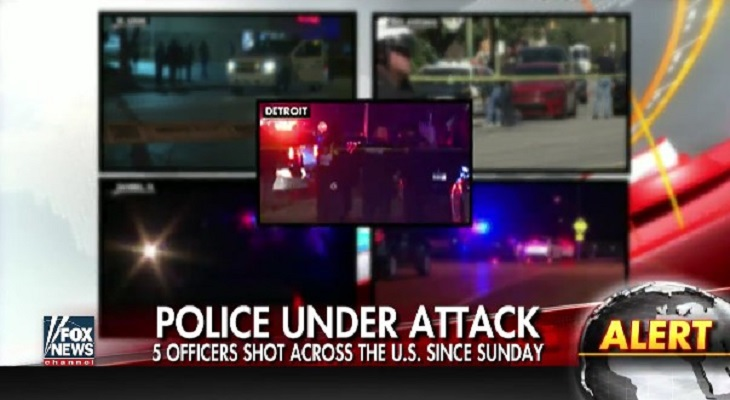 60 Law Enforcement Officers Fatally Shot This Year, 20 In Ambushes