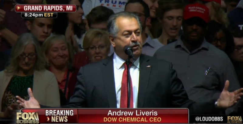 Boom! Dow Chemical CEO Announces New Plant in Michigan (VIDEO)