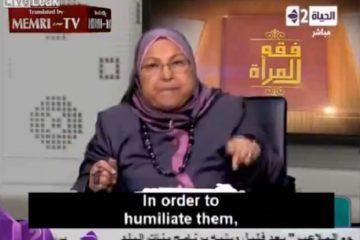 Female Muslim Professor Says It's OK To Rape Non-Muslim Women