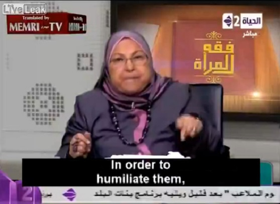 Female Muslim Professor Says It's OK To Rape Non-Muslim Women