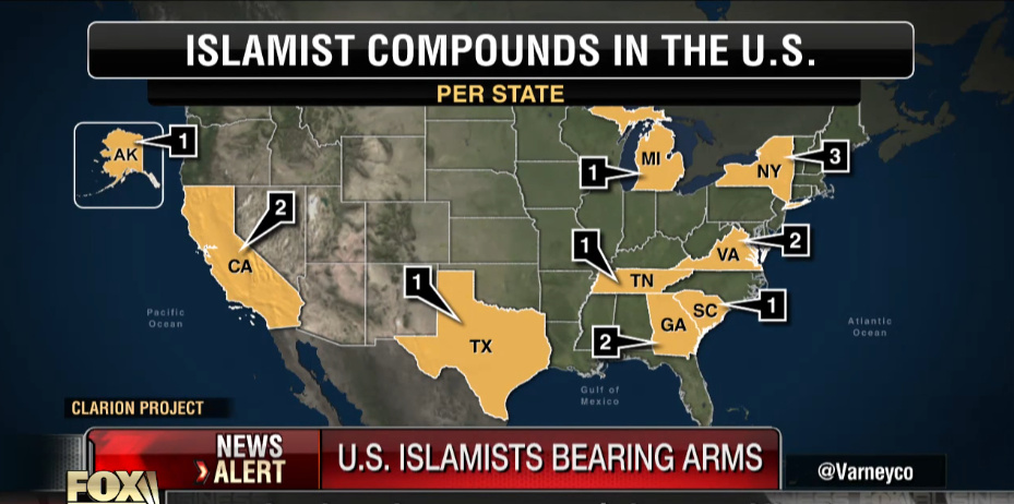 U.S. Islamist Compounds Are Stockpiling Weapons For This! (Video)