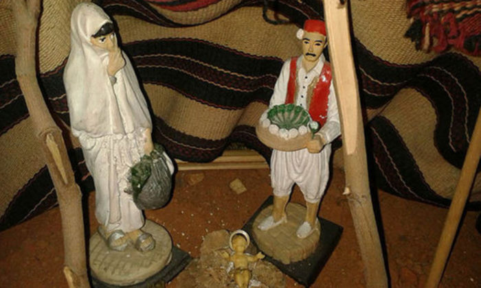 Church Makes Nativity Scene With Mary In A Burqa To Promote Islam