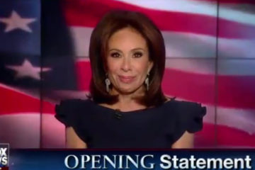 """Judge Jeanine: """"You're Witnessing History"""""""
