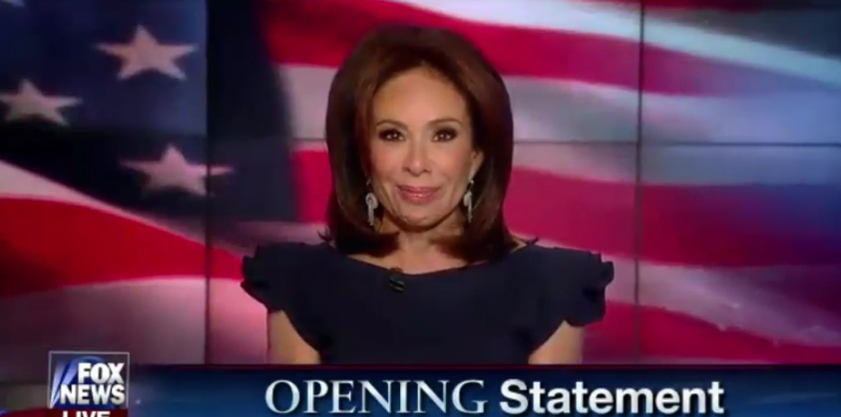 "Judge Jeanine: ""You're Witnessing History"""
