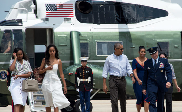 Obama Family Globetrotting Travel, Vacations Surpases $85 Million Mark