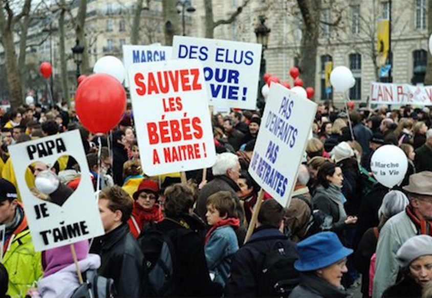 French Senate Passes Pro-Life Website Ban