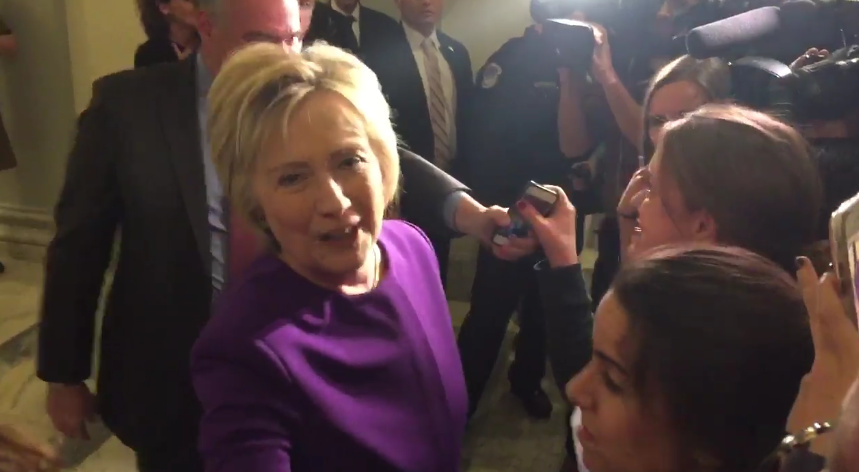 Women Who Meet Hillary At Reid Event Weeping Over Her Losing