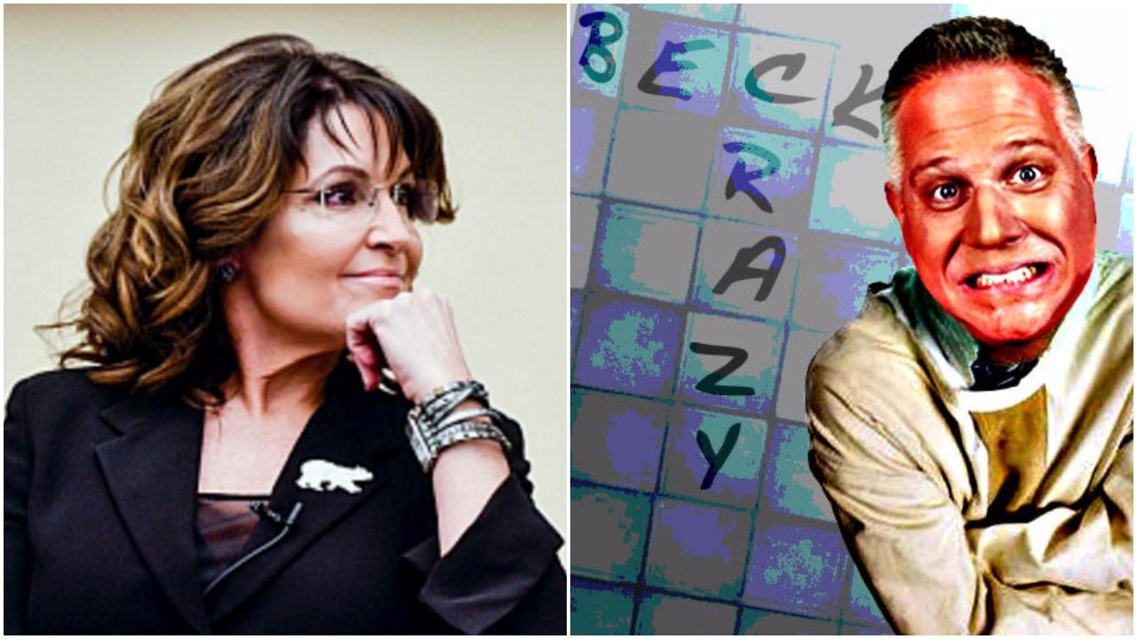 Glenn Beck Viciously Attacks Sarah Palin... She Responds In EPIC Palin Style!
