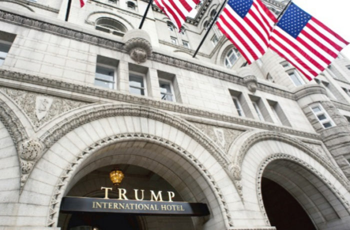 Trump Will Donate Hotel Profits From Foreign Governments To United States Treasury
