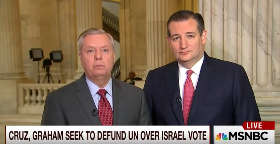 Ted Cruz & Lindsey Graham Introduce Bill To Defund U.N. Over Anti-Israel Resolution