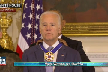 Obama Awards Biden With Presidential Medal Of Freedom