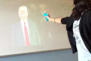 """Texas Teacher Who Staged """"Mock Assassination"""" Of Trump Is Placed On """"Administrative Leave"""""""