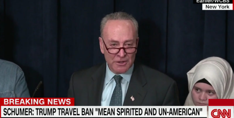 "FLASHBACK: Chuck Schumer Said That A ""REFUGEE PAUSE MAY BE NECESSARY"""
