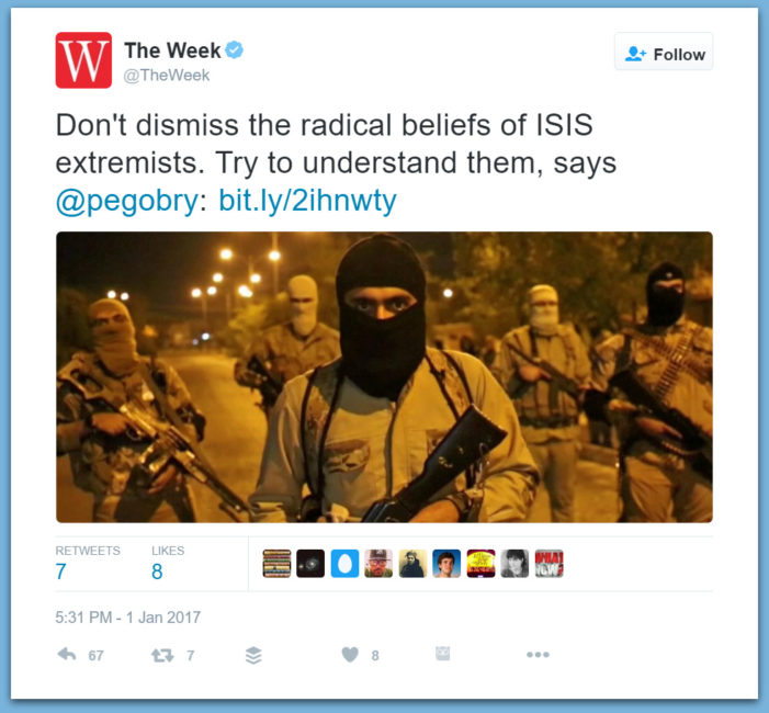 Liberal Rag: Try To Understand ISIS
