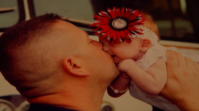 Firefighter Adopts Baby Girl He Delivered Emergency Call