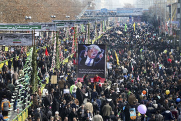 """Hundreds Of Thousands Iranians Gather Chanting """"Death To America!"""""""