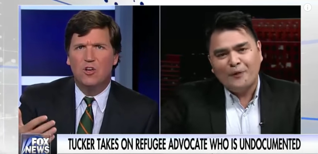 Heated Debate! Watch Tucker Carlson DESTROY Anti-White Illegal Immigrant