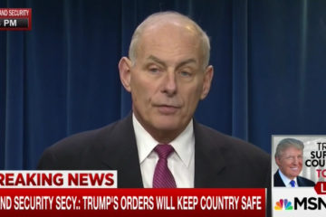 DHS Secretary Kelly On Trump's Immigration Ban: 'I Will Not Gamble With American Lives'