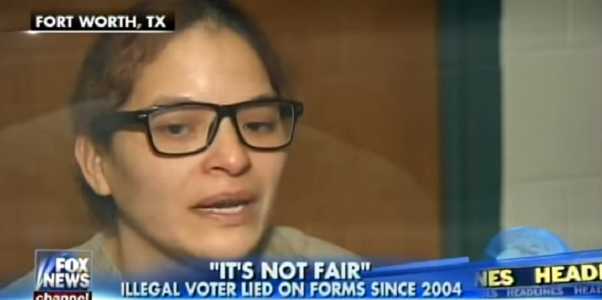 Jailed Illegal Alien Whines Voting Illegally 5 Times Is Not A Real Crime (Video)