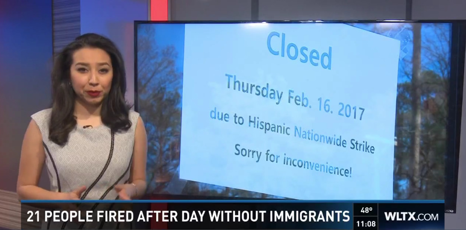 "60+ People Lost Their Jobs After Participating In ""Day Without Immigrants"""