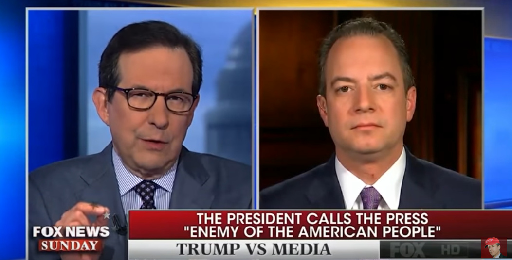 "Reince Priebus: Top Intel Officers Say Allegations Of Trump Campaign Links To Russia ""Complete Garbage"""