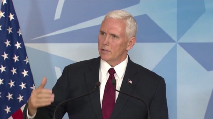 Pence Says NATO Defense Costs Must Be 'Shared Fairly' & Gives This Warning