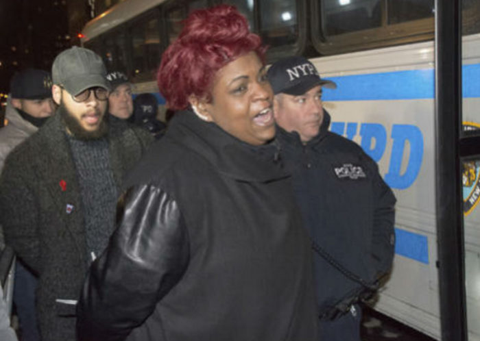 Al Sharpton's Daughter Gets Arrested At Anti-Trump Protest