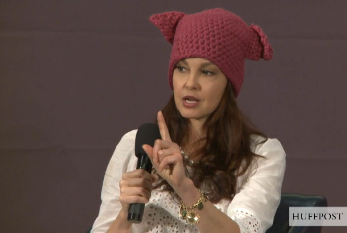 Unstable Ashley Judd Says Trump's Election Victory Worse Than Being Raped (Video)