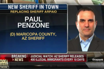 """New Maricopa County Sheriff Releasing 400 """"Criminal Illegal Aliens"""" Every 10 Days"""