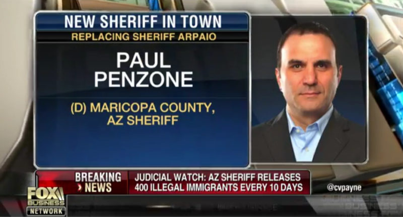"New Maricopa County Sheriff Releasing 400 ""Criminal Illegal Aliens"" Every 10 Days"