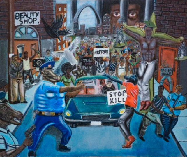 Pelosi Fights To Keep 'Cops As Pigs' Artwork At Capitol… Gets Big Surprise