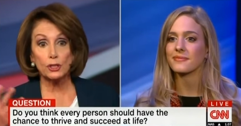 Pelosi Tells Adopted Woman 'Your Mom Should've Had The Choice To ABORT You' (Video)