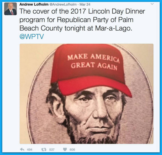 Chelsea Gets Triggered: Wonders if Lincoln #MAGA Hat Is Photoshopped