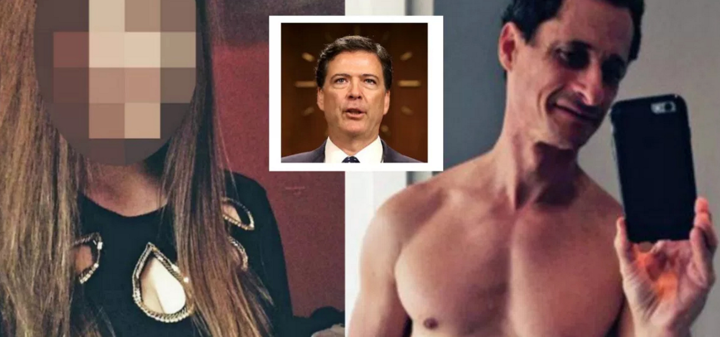 "Alleged Underage Victim of Anthony Weiner Lashes Out! Comey ""Victimized Me"" & ""Helped Abuse To Continue"""